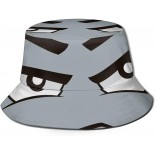 Printed Fisherman Packable Summer Travel Hat Fashion Outdoor Cap Multicolor,Funny Cartoon Facial Expressions 8 Fisherman Bucket Hat Unisex Polyester Reversible Sun Hat  B0922FYBHT