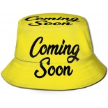XISB2SDH Coming Soon Fisherman Hat Sun Protection Packable for Summer Outdoor Traveling  B08X387JR4