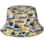 XISB2SDH Rosie The Riveter Fisherman Hat Sun Protection Packable for Summer Outdoor Traveling  B091827D1R