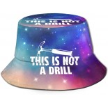 XISB2SDH This is Not A Drill Fisherman Hat Sun Protection Packable for Summer Outdoor Traveling  B08X3CBSMH